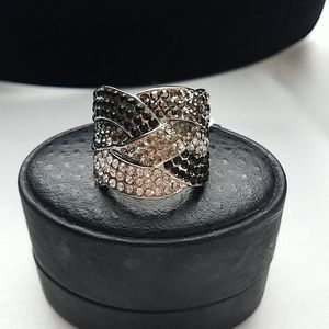 Lia Sophia Cocktail Hour Ring size 10 NWT